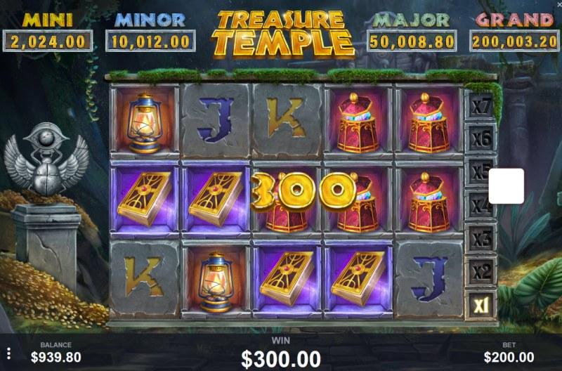 Treasure Temple :: Four of a kind