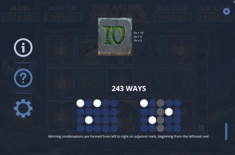Treasure Temple :: 243 Ways to Win