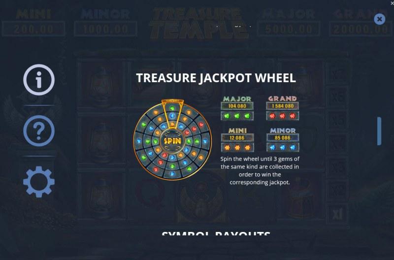 Treasure Temple :: Jackpot Wheel