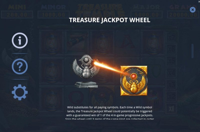 Treasure Temple :: Jackpot Rules