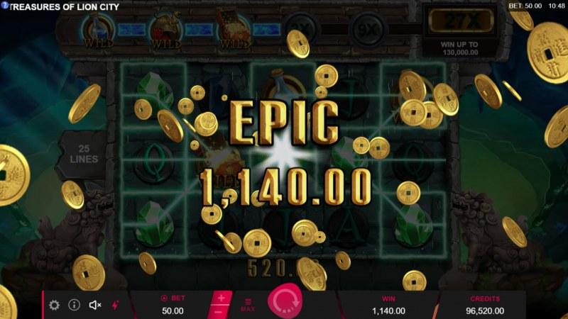 Treasures of Lion City :: Epic Win