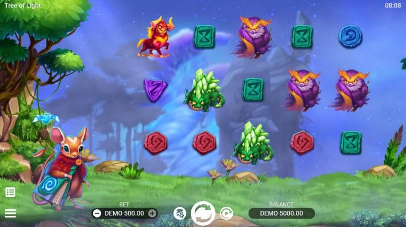 Tree of Lights :: Main Game Board