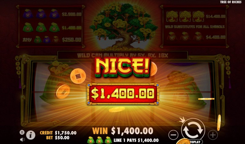 Tree of Riches :: Nice Win