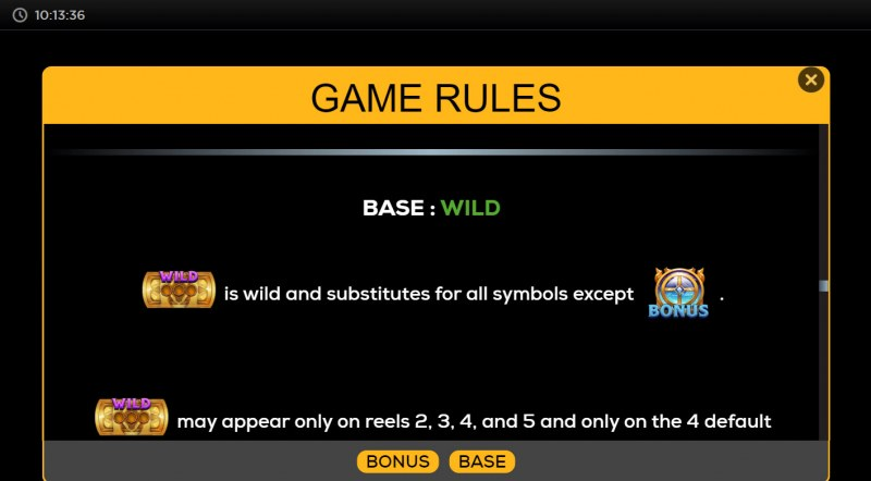 Trial by Fire :: Wild Symbol Rules