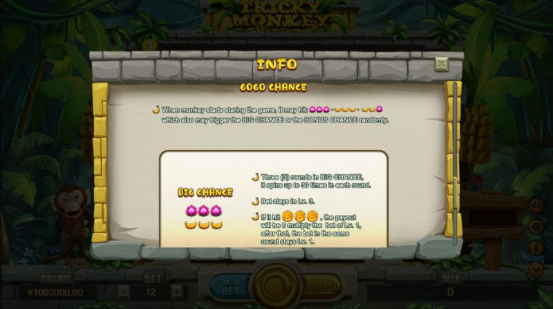 Tricky Monkey :: Bonus Game Rules
