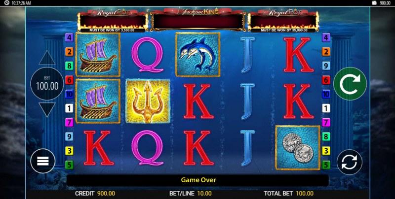 Tridentia Jackpot King :: Main Game Board
