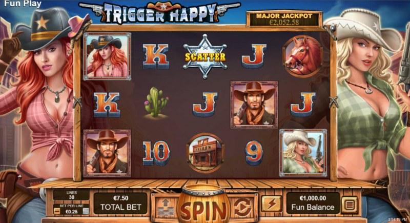 Trigger Happy :: Main Game Board