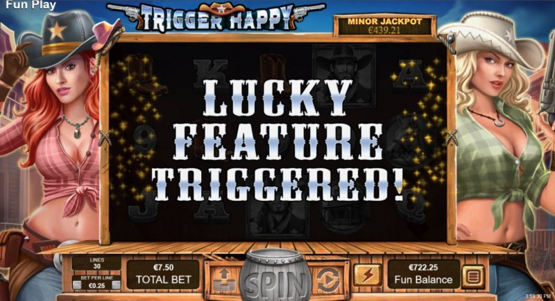 Trigger Happy :: Lucky Feature Triggered