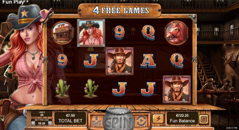 Trigger Happy :: Free Spins Game Board