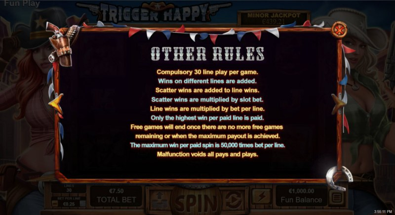 Trigger Happy :: General Game Rules