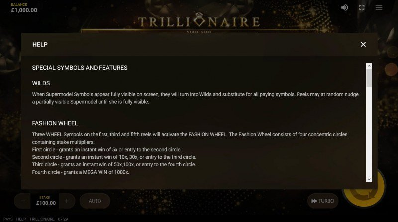 Trillionaire :: General Game Rules
