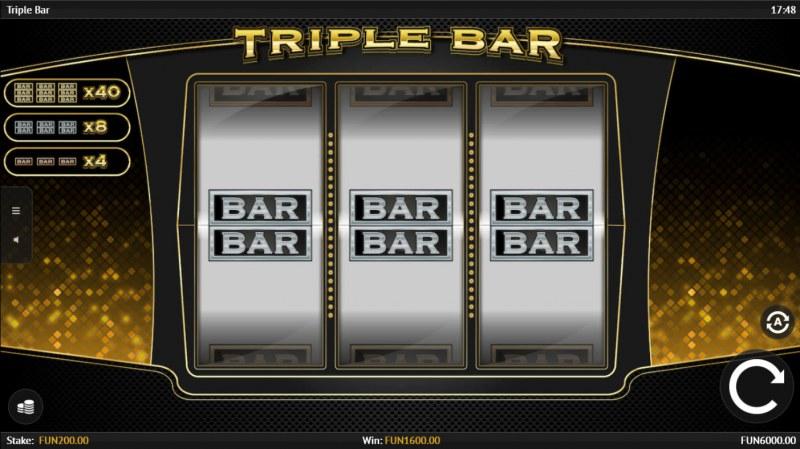 Triple Bar :: A win