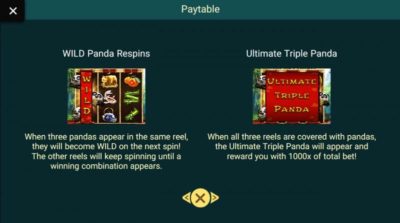 Triple Panda :: Wild Symbols Rules