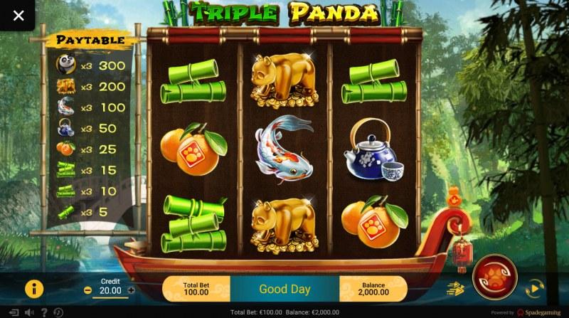 Triple Panda :: Main Game Board