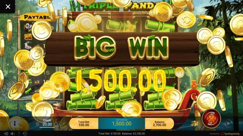 Triple Panda :: Big Win