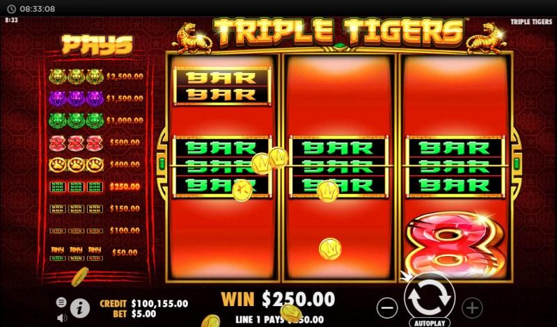 Triple Tigers :: Three of a kind
