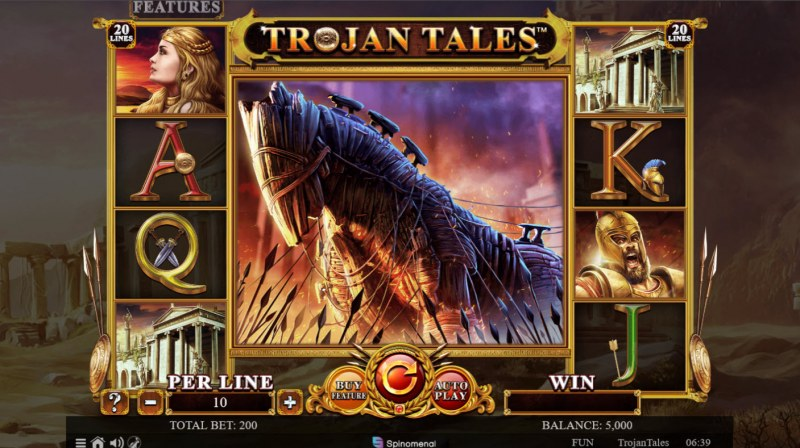 Trojan Tales :: Main Game Board