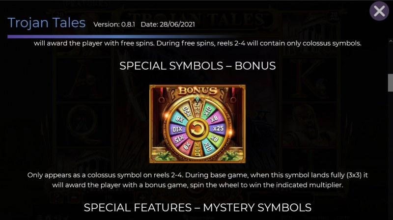 Trojan Tales :: Bonus Feature