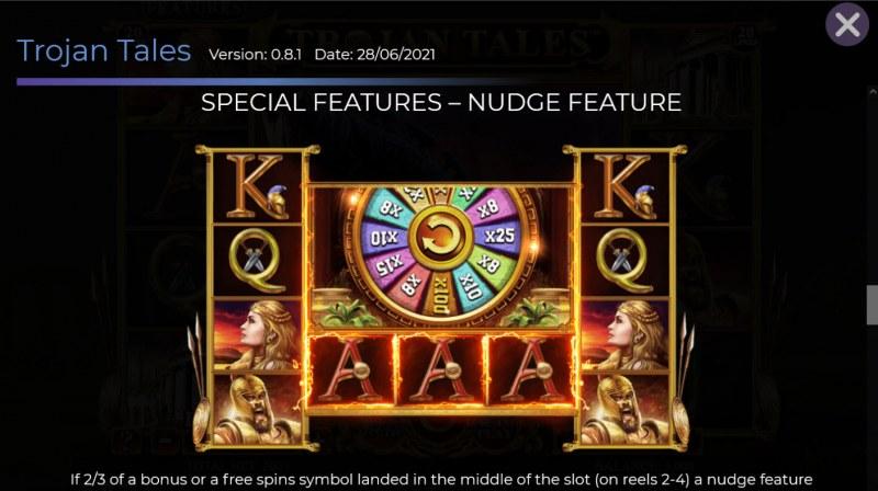 Trojan Tales :: Nudge Feature