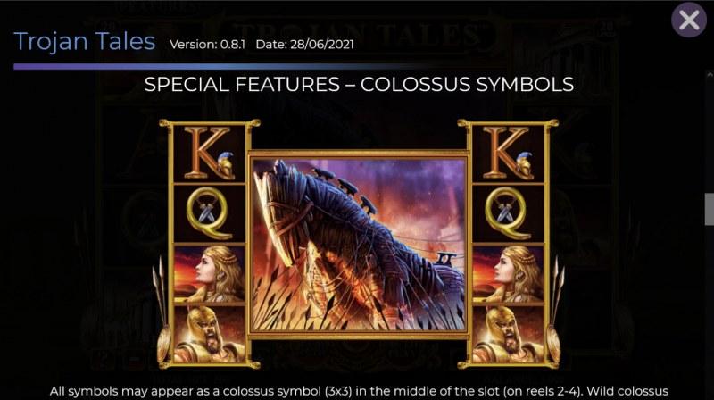 Trojan Tales :: Colossus Symbols