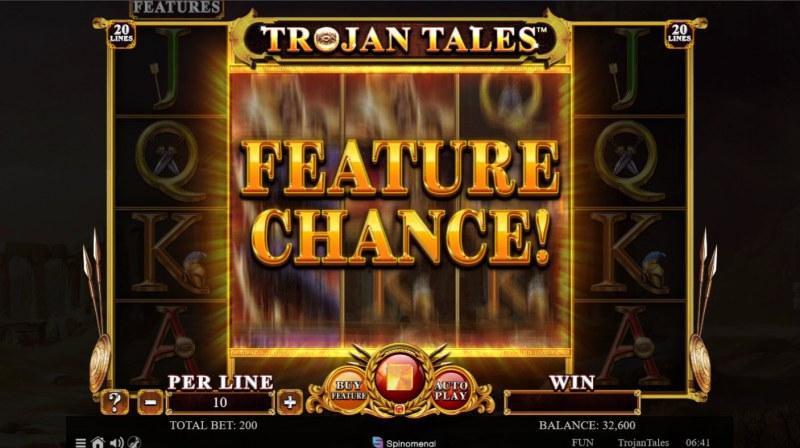 Trojan Tales :: Feature Chance