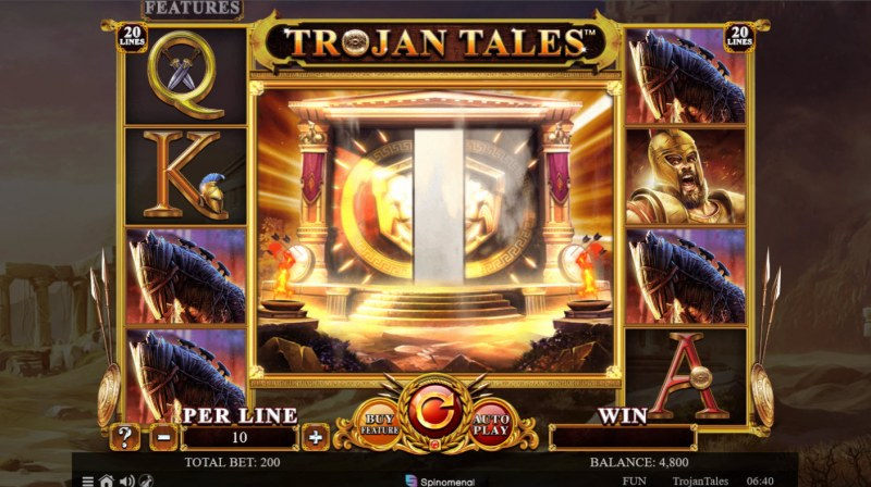 Trojan Tales :: Mystery feature triggered
