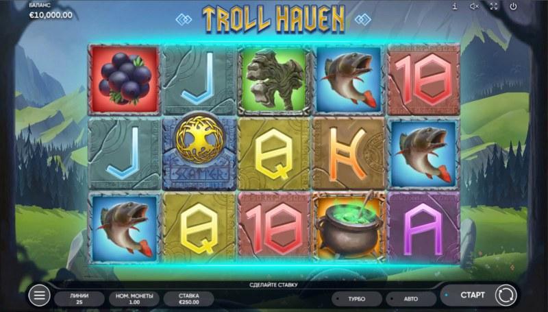 Troll Haven :: Base Game Screen