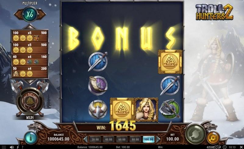 Troll Hunters 2 :: Bonus game awarded