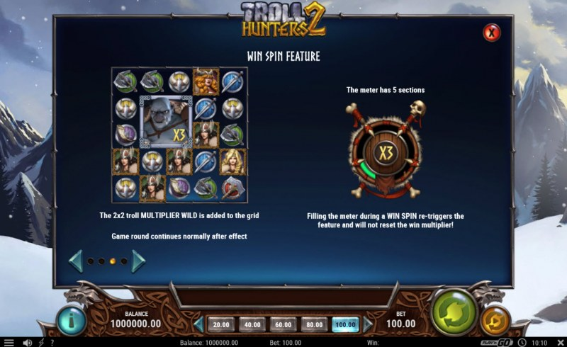 Troll Hunters 2 :: Win Spin Feature