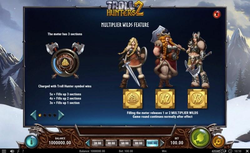 Troll Hunters 2 :: Multiplier Wild Feature