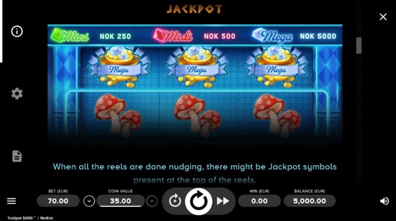 Trollpot 5000 :: Jackpot Rules