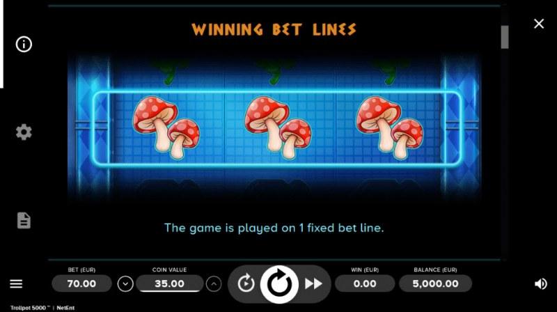 Trollpot 5000 :: One fixed bet line