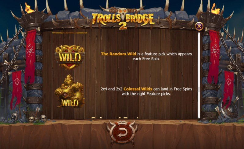 Trolls Bridge 2 :: Wild Symbols Rules