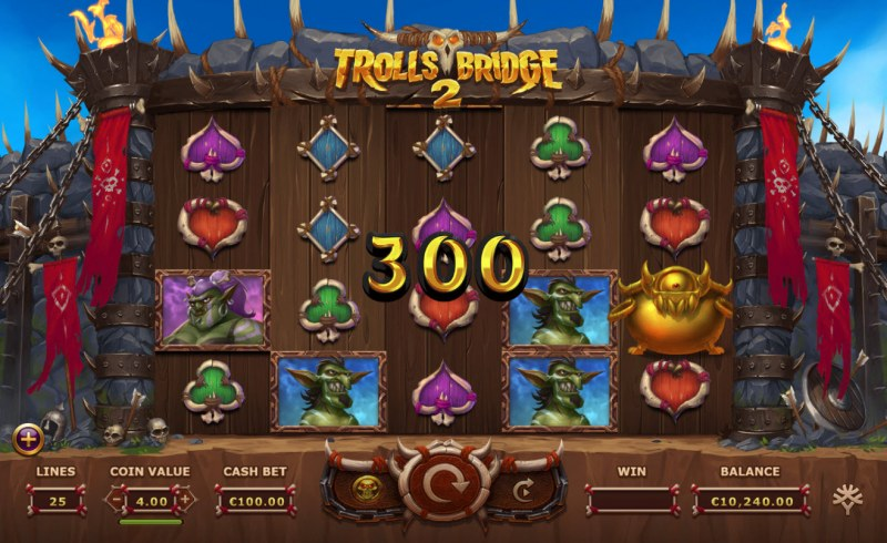 Trolls Bridge 2 :: Big Win