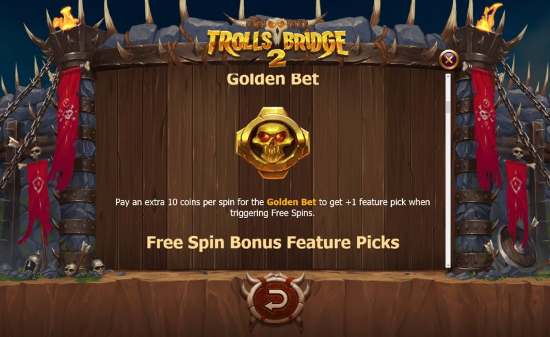 Trolls Bridge 2 :: Golden Bet Feature