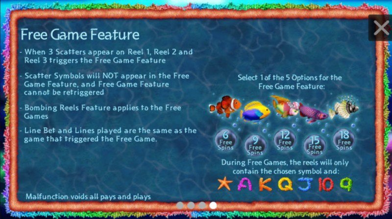 Tropical Treasures :: Free Games Feature