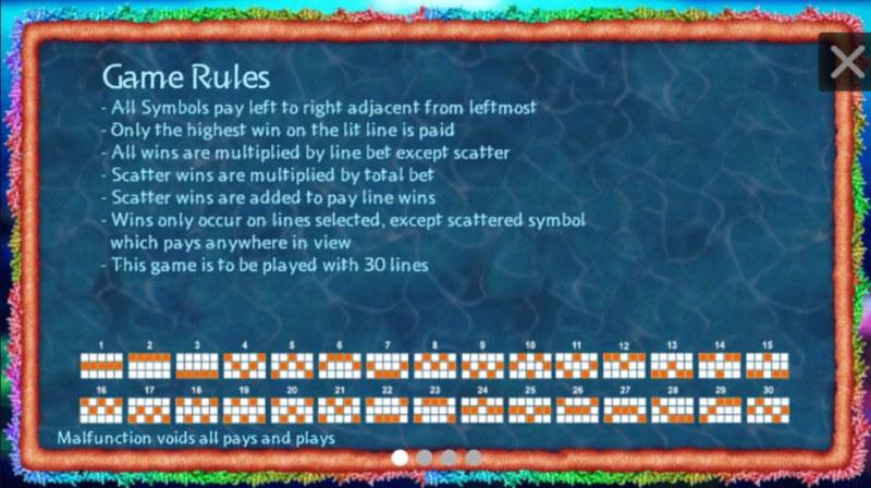 Tropical Treasures :: General Game Rules