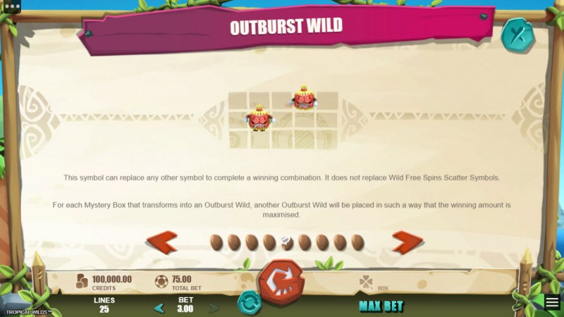 Tropical Wilds :: Outbursts Wild
