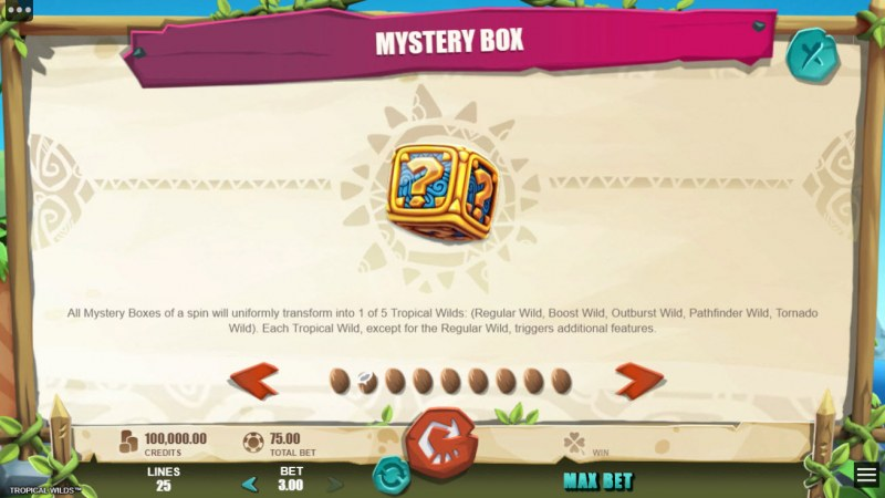 Tropical Wilds :: Mystery Symbol