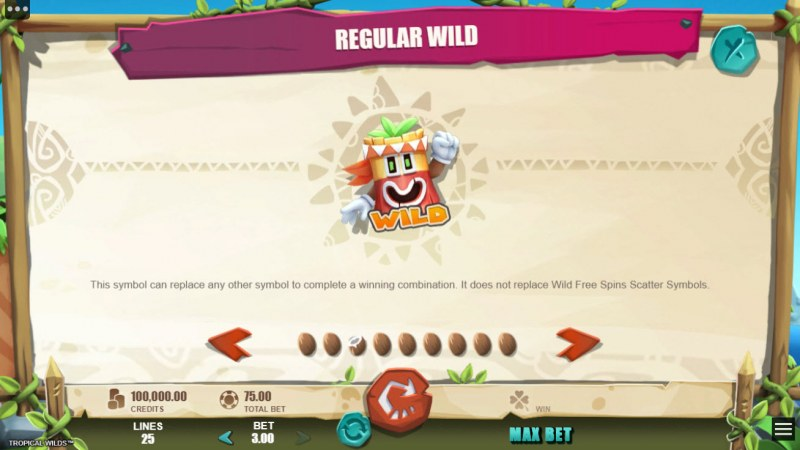 Tropical Wilds :: Regular Wild