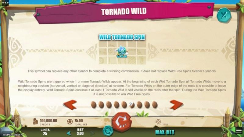 Tropical Wilds :: Tornado Wild