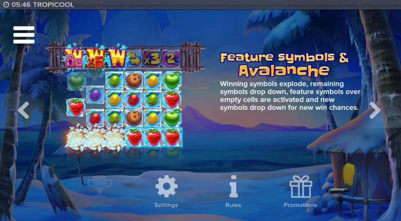 Tropicool :: Avalanche Feature