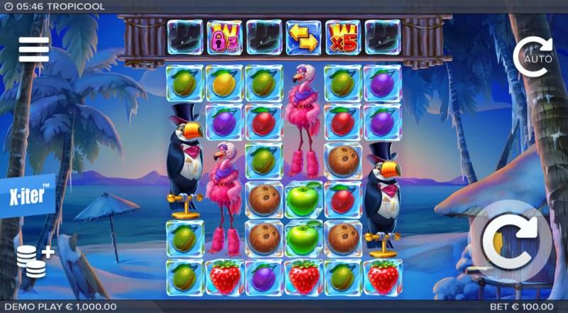 Tropicool :: Main Game Board