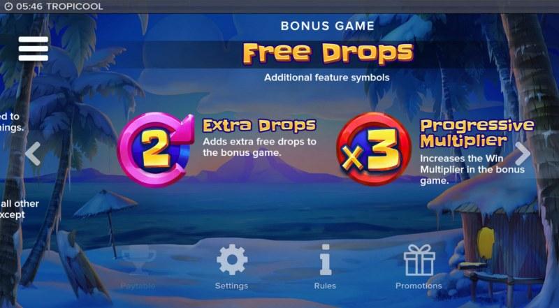 Tropicool :: Free Drops