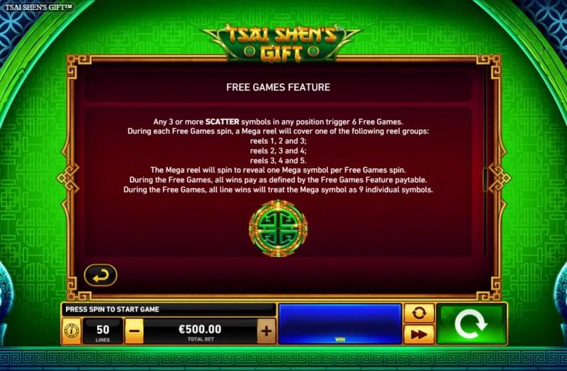 Tsai Shen's Gift :: Free Game Rules