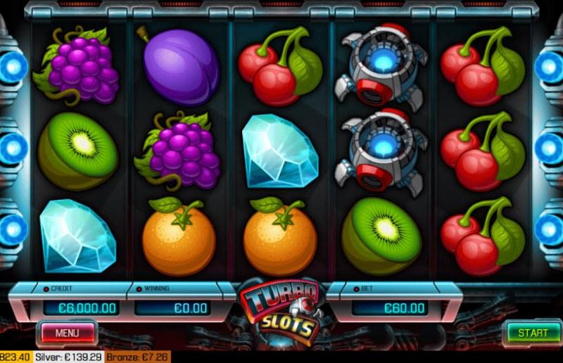 Turbo Slots :: Main Game Board