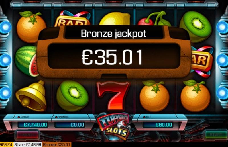 Turbo Slots :: Bronze Jackpot Awarded