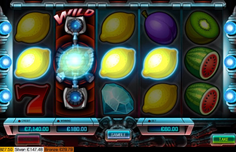 Turbo Slots :: A four of a kind Win