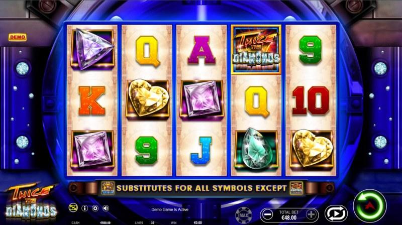 Twice the Diamonds :: Main Game Board