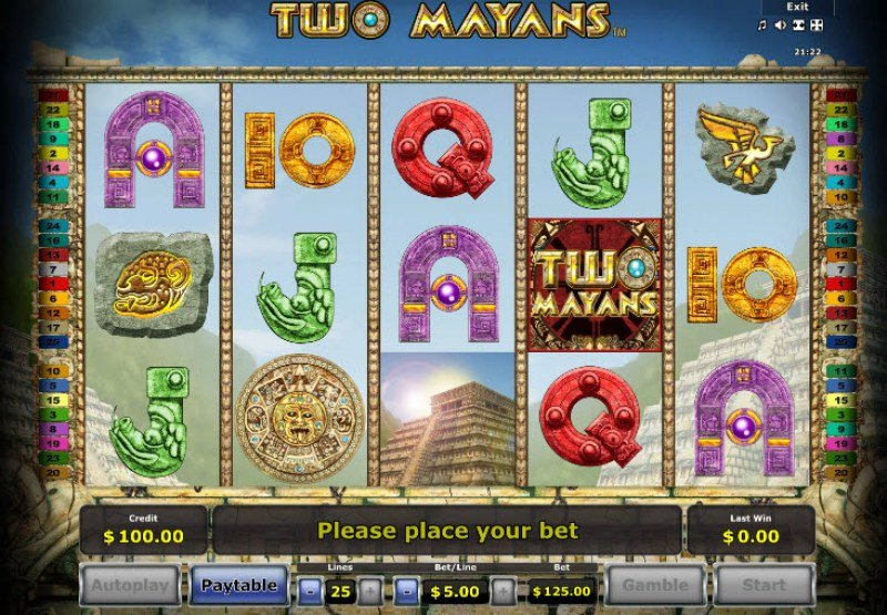 Two Mayans :: Main Game Board